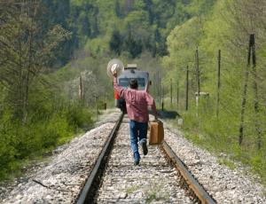 Что делать если опоздал на поезд?